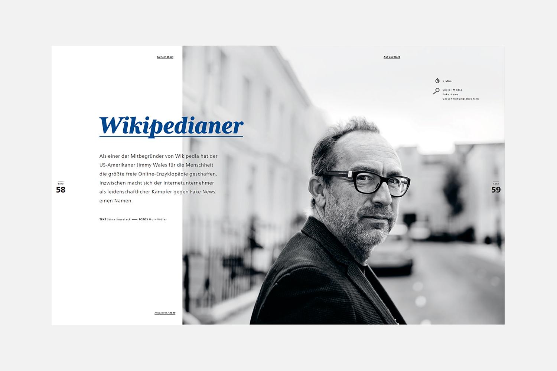 Das Weitwinkel Magazin_Der Wikipedianer